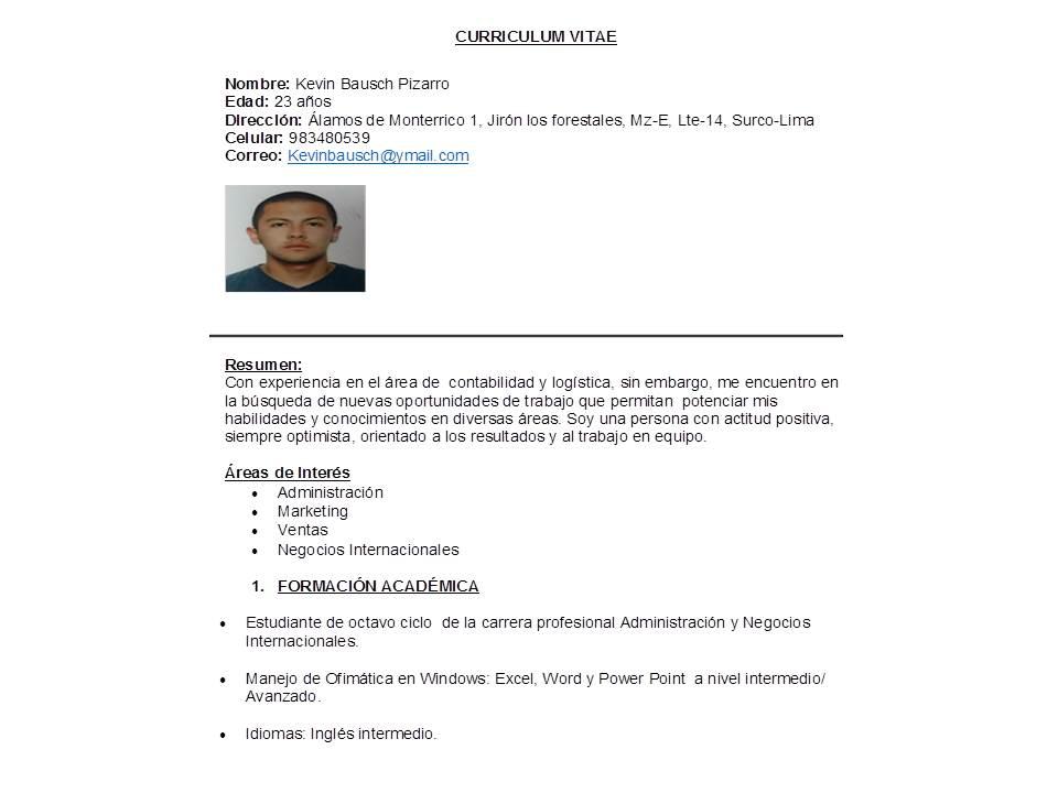 Blog personal UPC: CV por logros