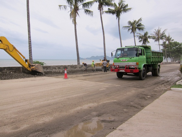 Road Repair in Dili