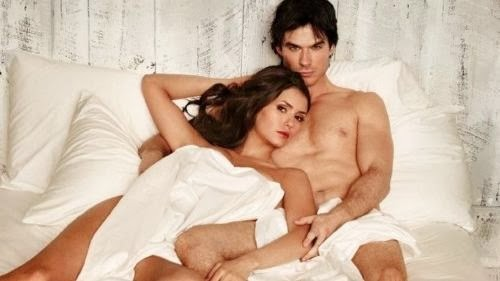 Hot And Sexy Elina Gilbert And Demon Salvatore - Nine Dobrev And Ian Somerhalder
