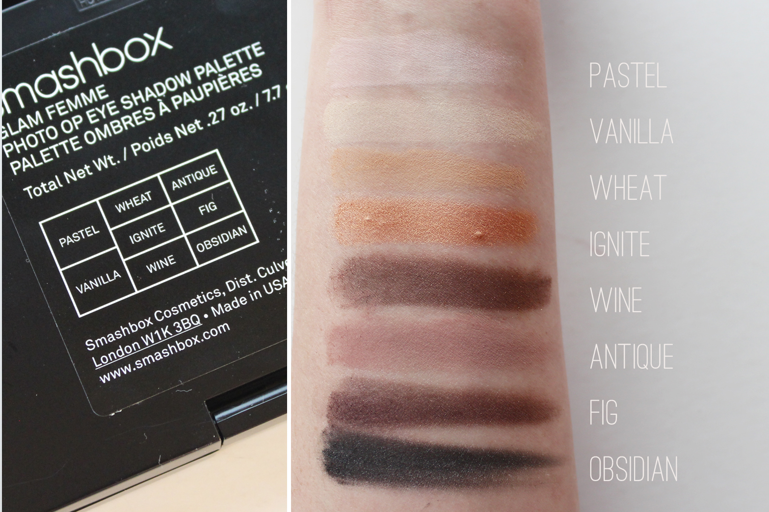 SMASHBOX | Glam Femme Makeup Set - Review + Swatches - CassandraMyee