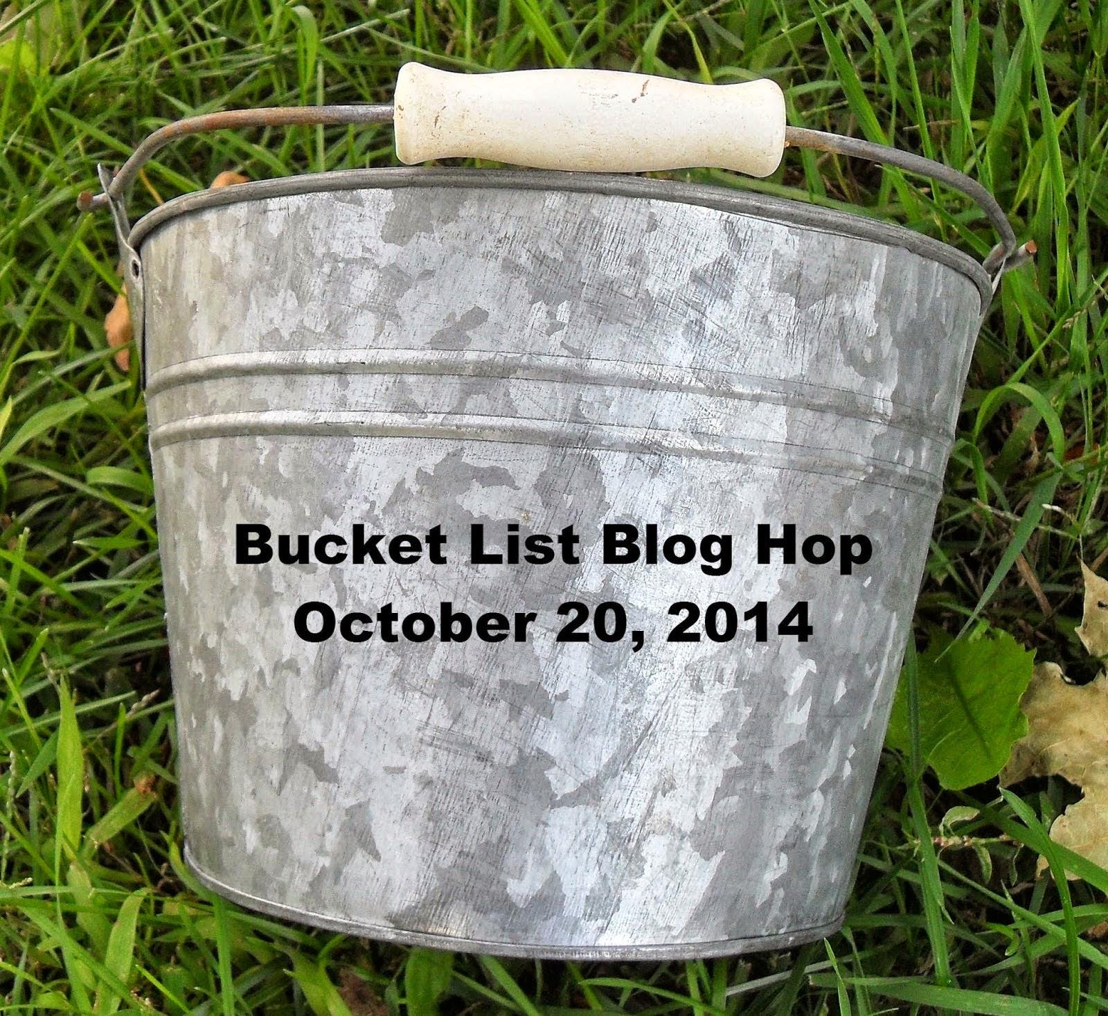 Bucket List Blog Hop
