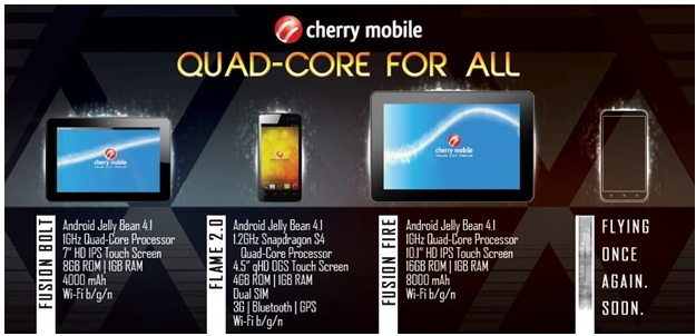 Cherry Mobile Quad Core devices