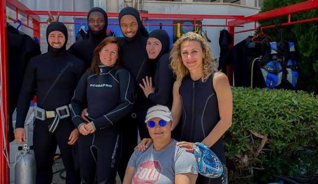 Η Αποστολία Παπαδαμάκη στην πρώτη υποβρύχια χορευτική παράσταση παγκοσμίως