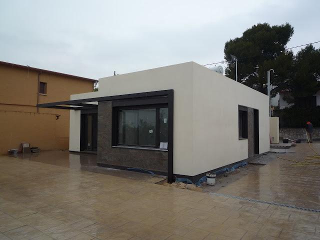 Casas y planos casa mediterr nea 116 m2 for Casas prefabricadas mediterraneas