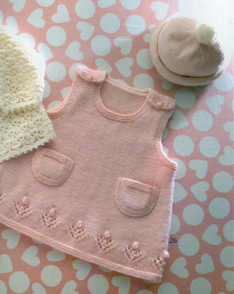 Baby Dress Free Knitting Pattern : knitting baby patterns-Knitting Gallery