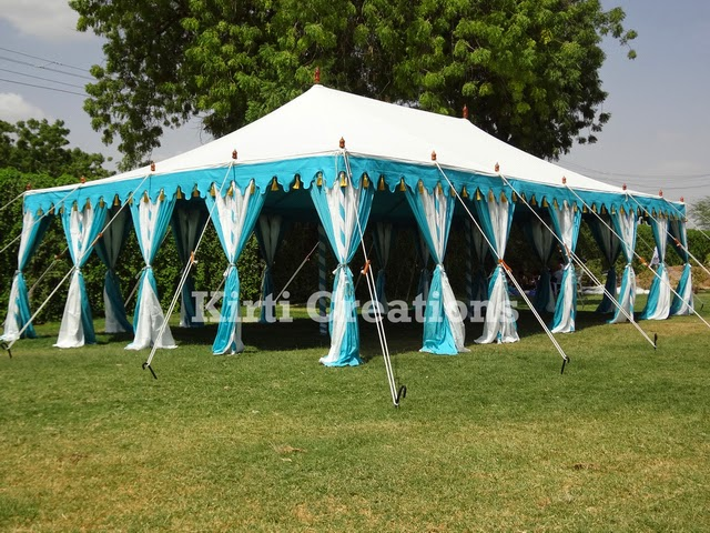 Traditional Look of Indian Tents & Raj Tent-Tent Manufacturers: Traditional Look of Indian Tents
