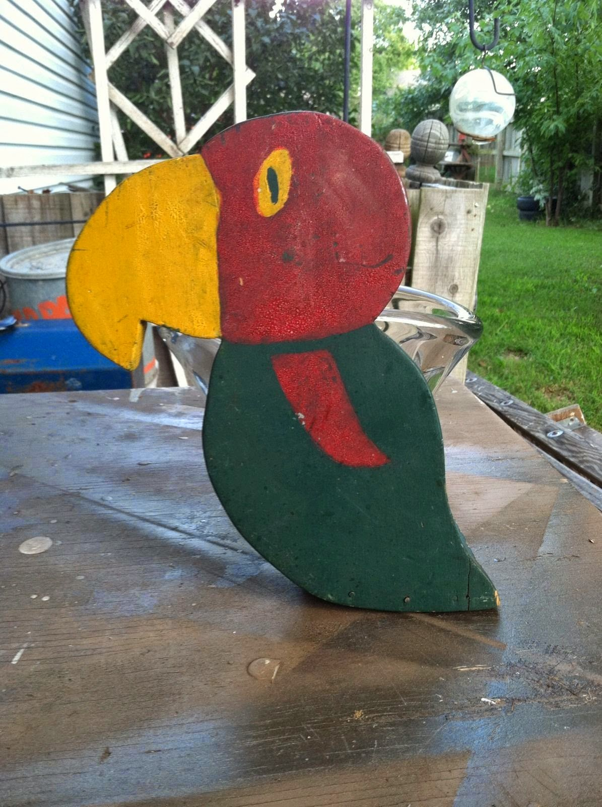 Folk Art KU Jayhawk Doorstop
