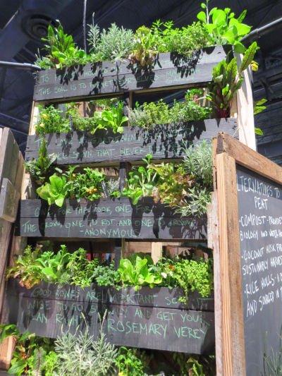 Philadelphia Flower Show vertical garden