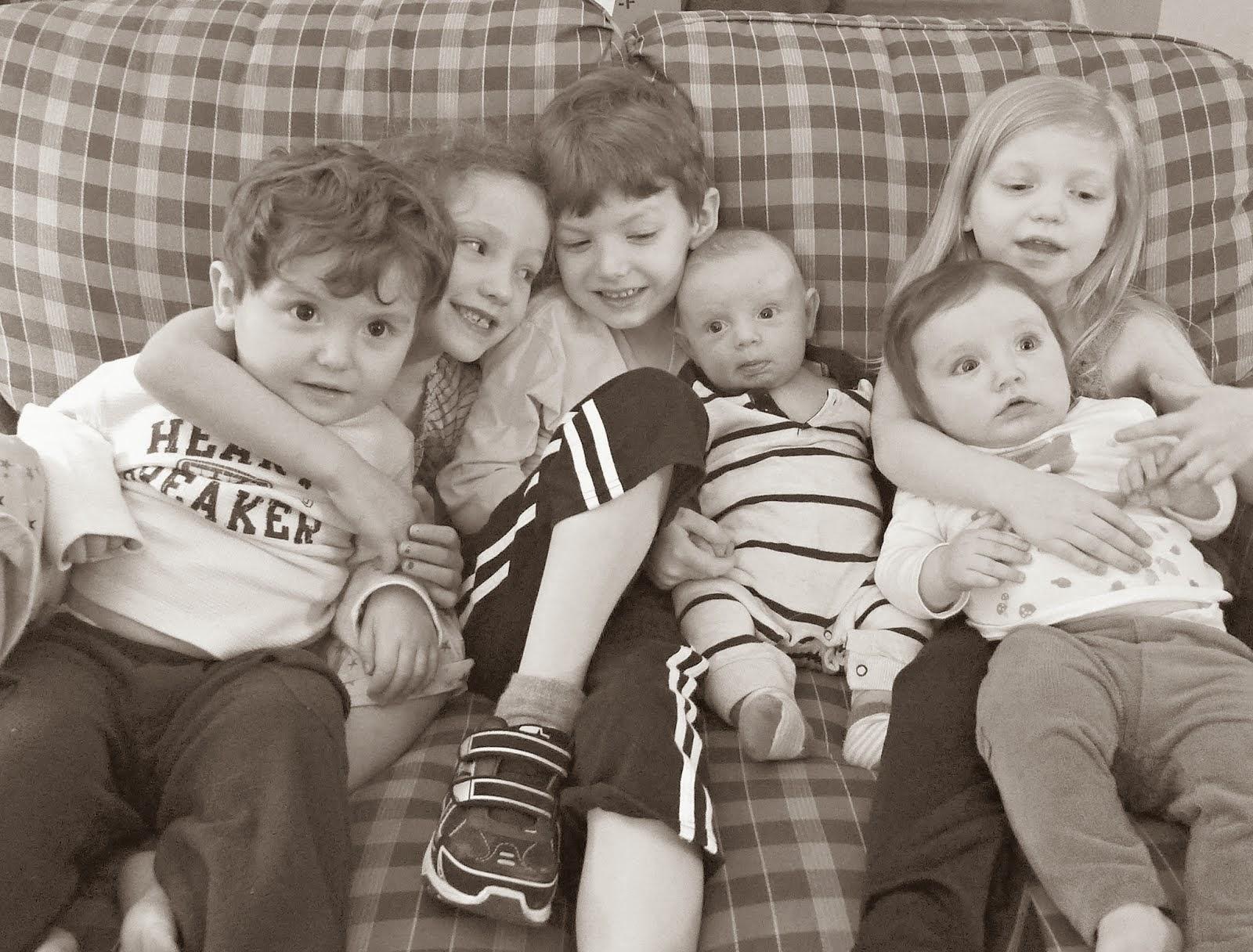 Sweet Grandbabies         Elijah & Charlotte & Penelope & Caleb & Lulu & Fletcher