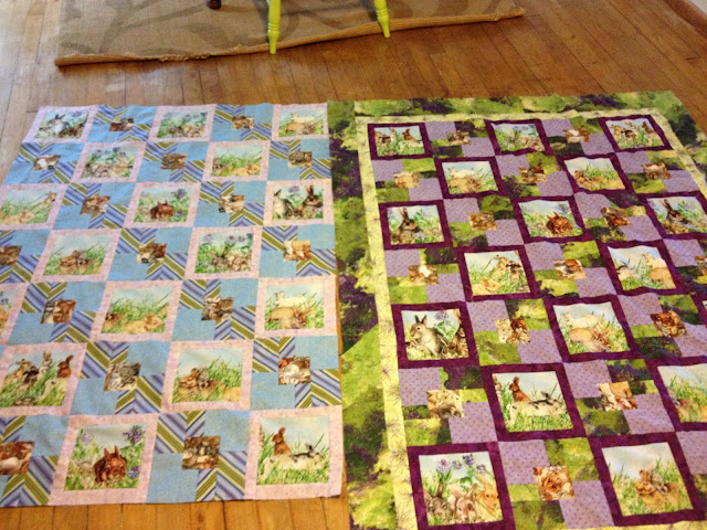 quilt tops in progress