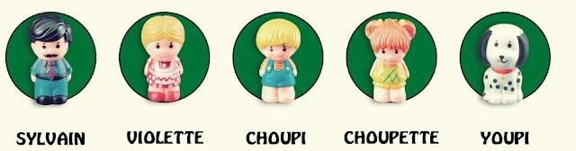 les personnages de l'arbre vulli