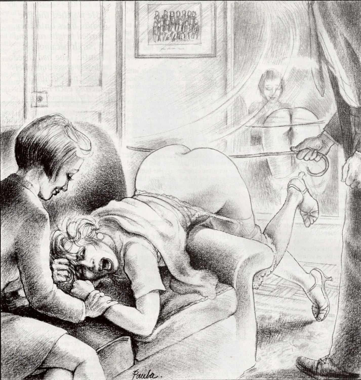 Erotic art spank sorry