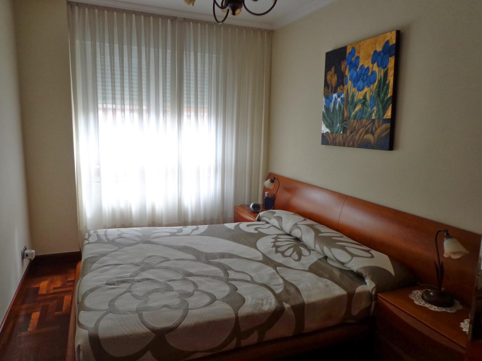Decorar con cortinas y mucho m s decorar un dormitorio - Cortinas dormitorio principal ...