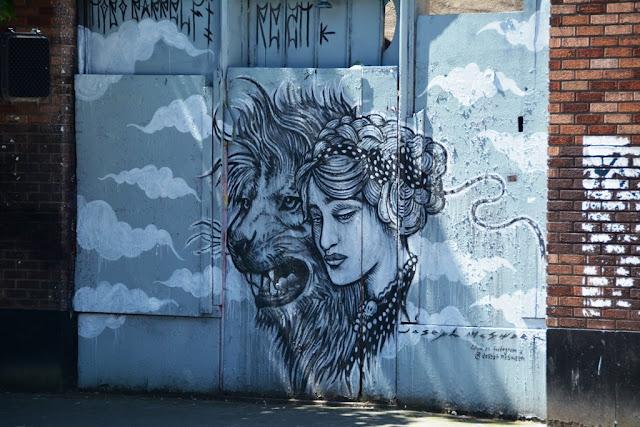 Seattle graffiti 2 nd avenue