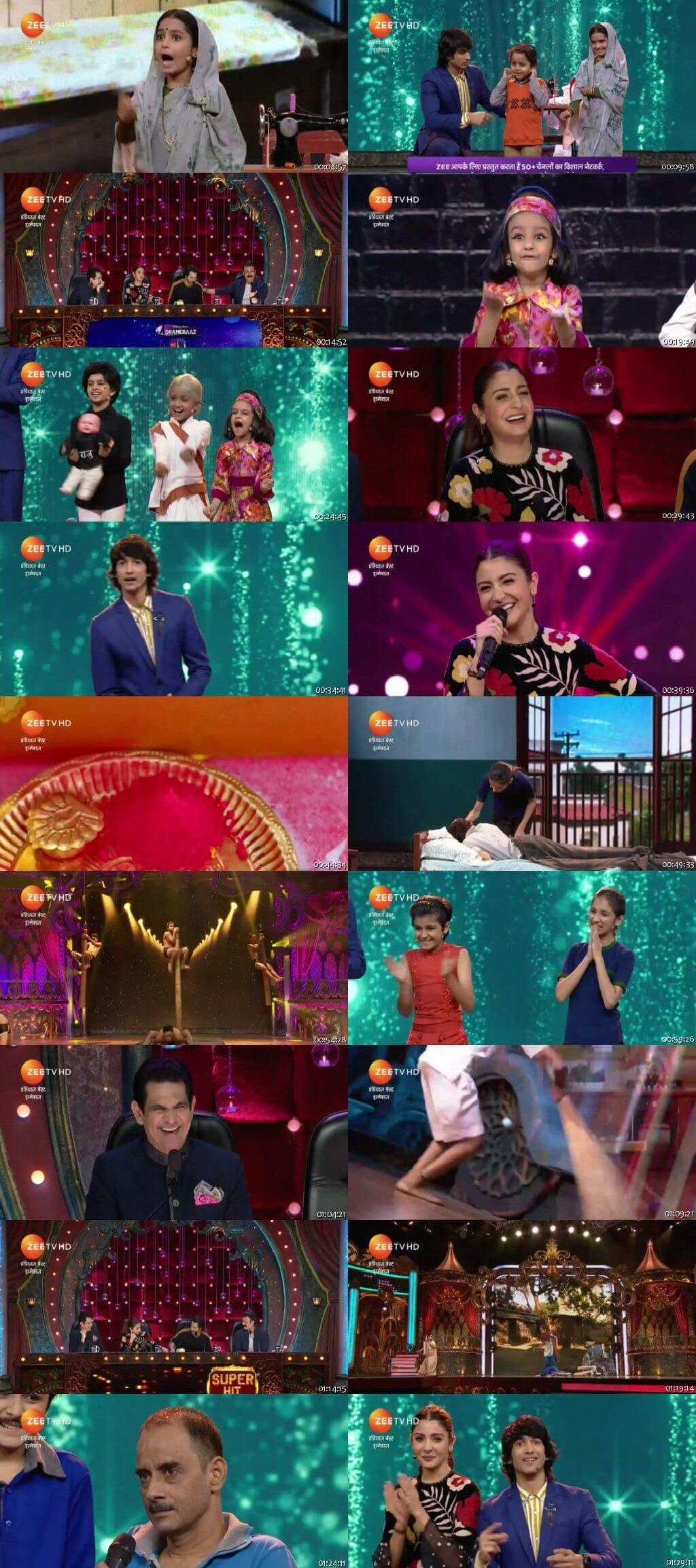 Screen Shot Of india's best dramebaaz 23rd September 2018 Episode 26 300MB Watch Online