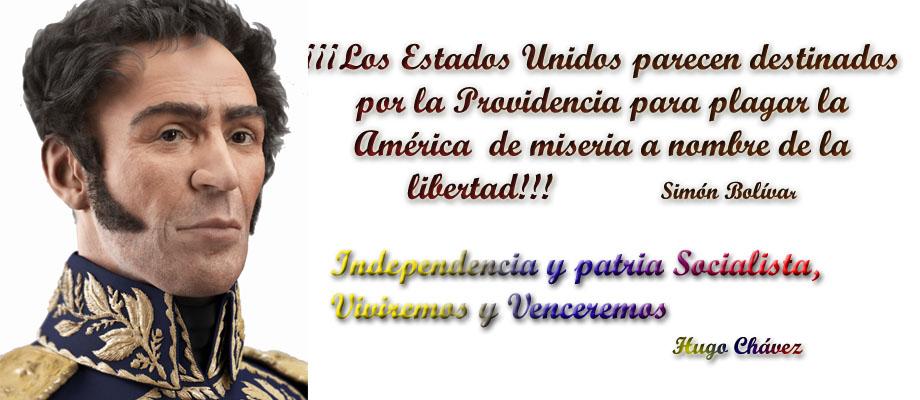Las noticias del acontecer de la Patria de Simón Bolívar