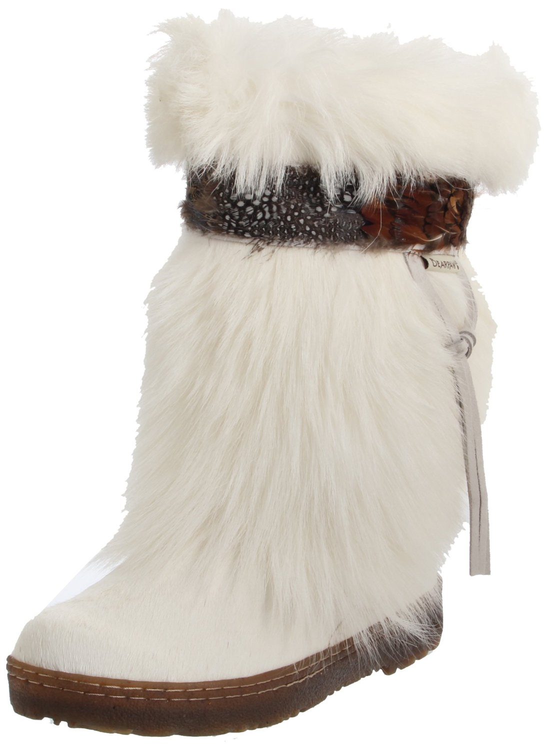 fashion trends winter fur boots for