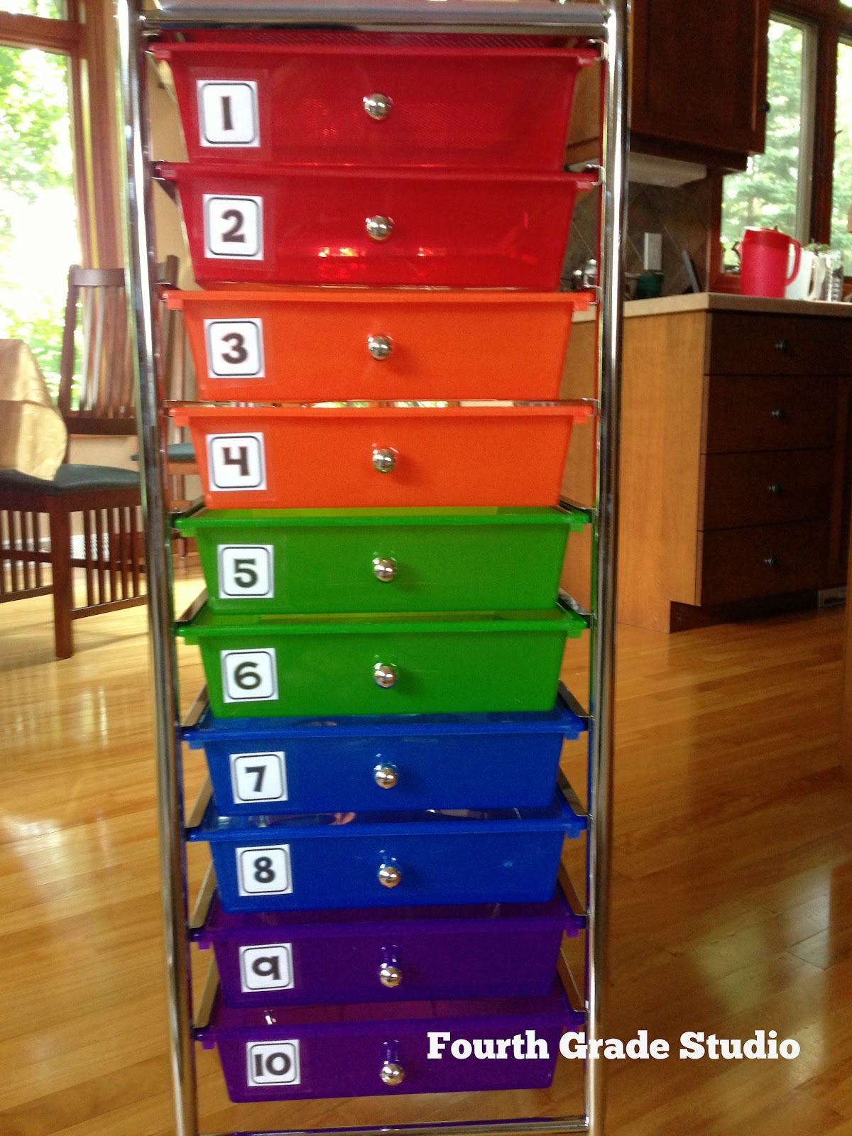 Math Tubs and More | The Teacher Studio: Learning, Thinking, Creating