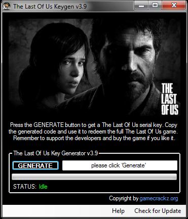 The Last Of Us Game Keygen, Cracks, Serial Numbers, Patch ...
