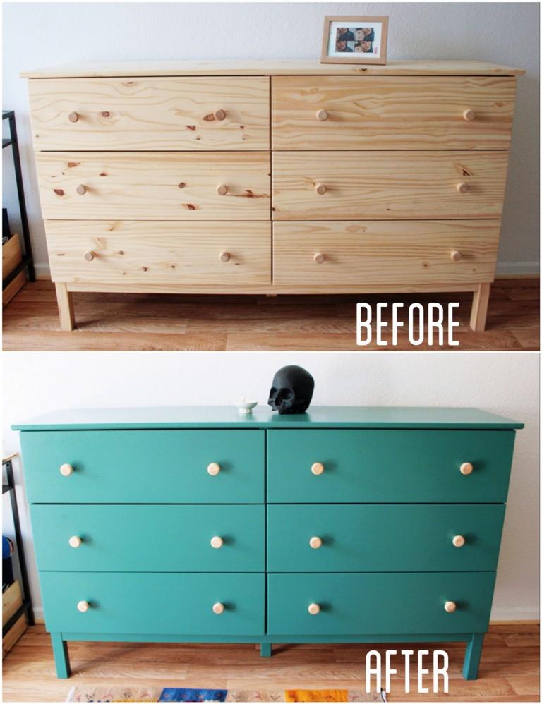 Dresser Painting Jade