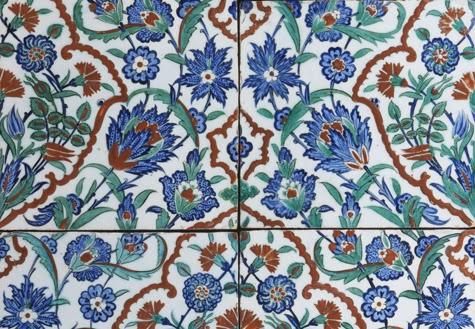 agenda alla turca azulejos de iznik em exposi o no museu