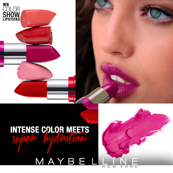 Maybelline New York's Color Show Lip Color