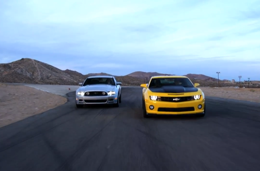 Chevrolet Camaro SS 1LE vs Ford Mustang GT
