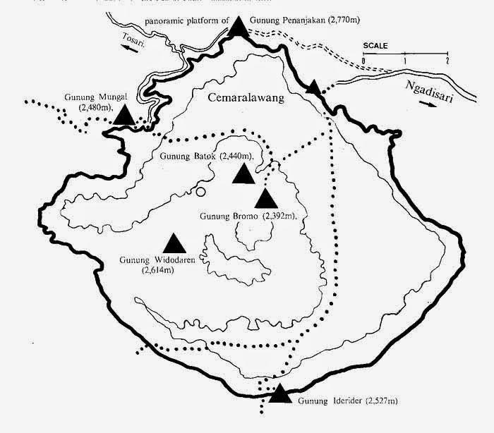 Map Rute ke Bromo