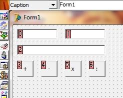 membuat kalkulator dengan delphi