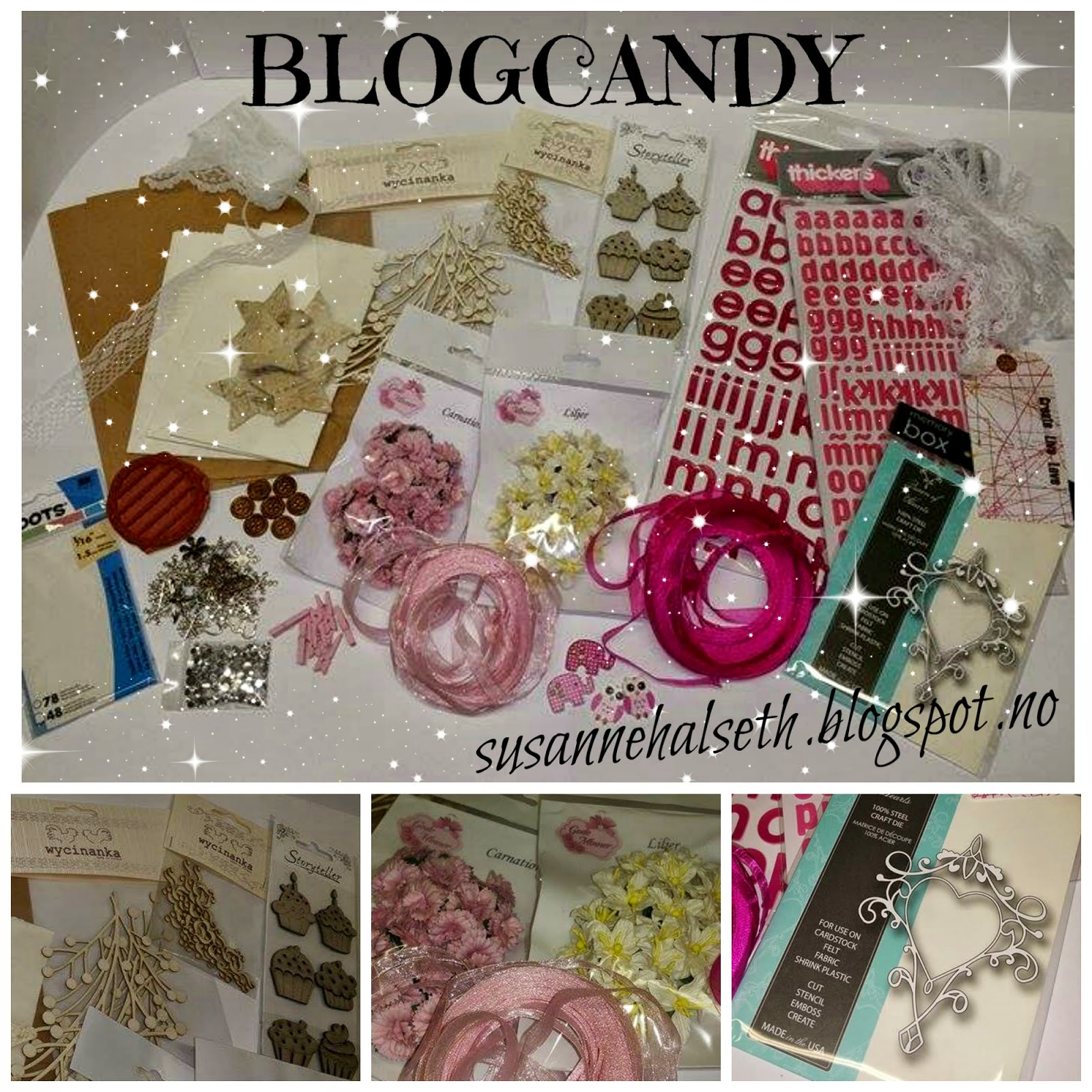 Blogcandy hos Susanne