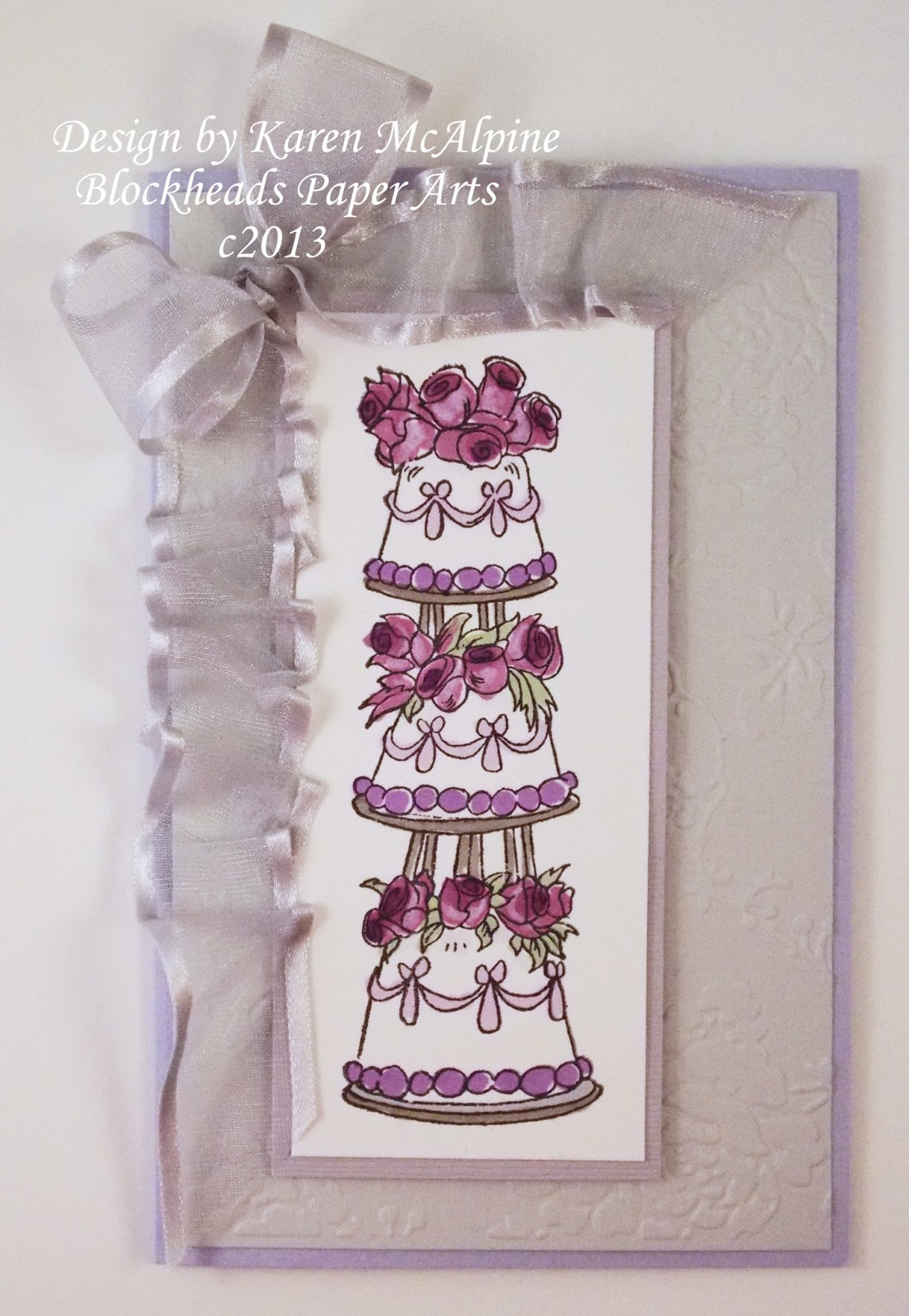 Wedding Cards For That Special Occasion With Blockhead Stamps