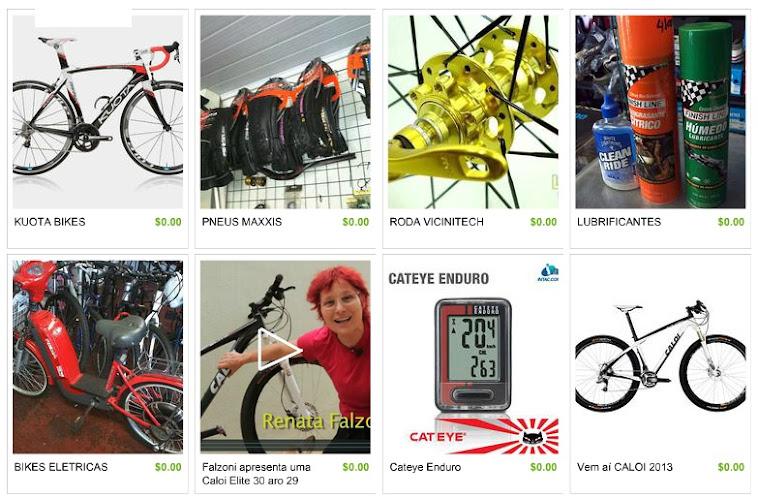 Bike, pneus, cubos, lubrificantes, eletrica, didas Renata Falzoni, ciclocomputer