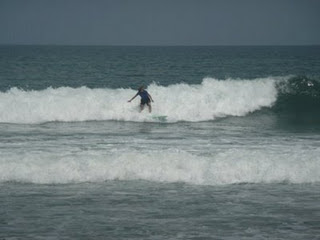 Medewi Beach Surfing