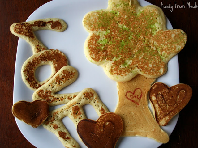 Valentine's Day Pancakes