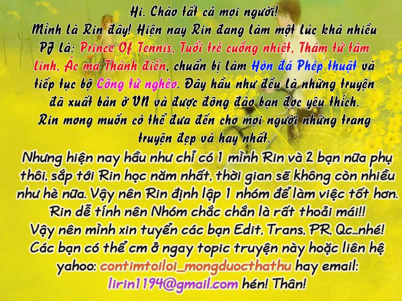 Prince of Tennis chap 99 Trang 1