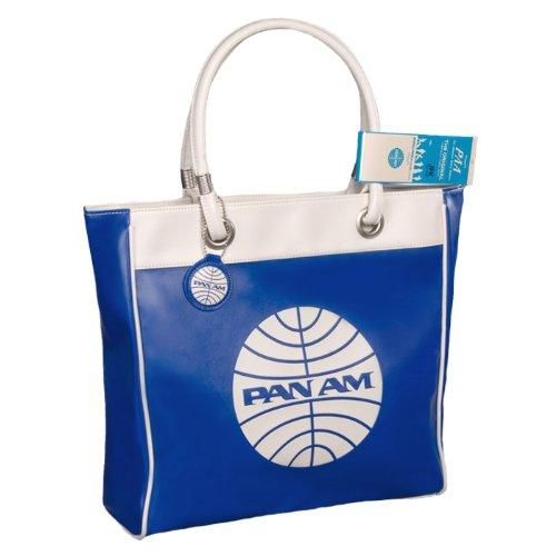 Vintage 1960/'s White Pan Am Travel bag