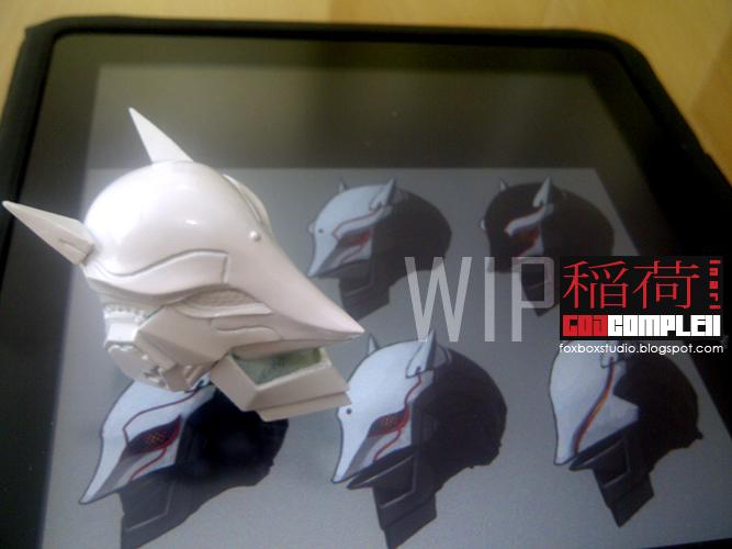FOXBOX STUDIO - GOD COMPLEX - HERMES Inari-WIP3