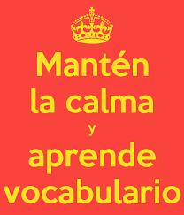 Mi vocabulario