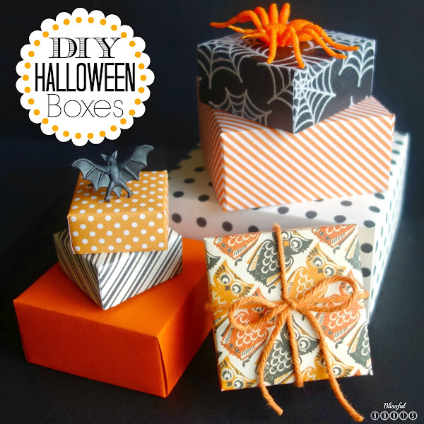 DIY Halloween Boxes @ Blissful Roots