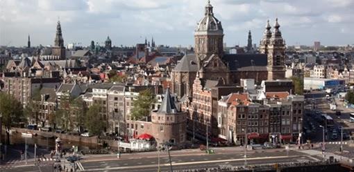 Alojarse en Amsterdam de vacaciones