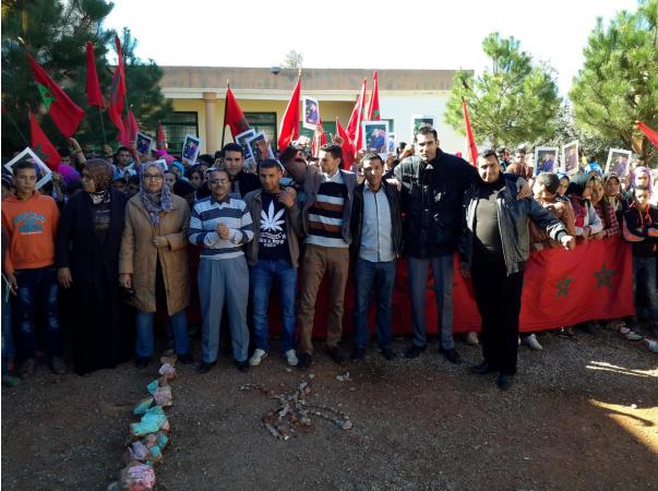 ثانوية تمساوت الإعدادية بنيابة إقليم الحسيمة تخلد الذكرى الأربعين للمسيرة الخضراء المظفرة