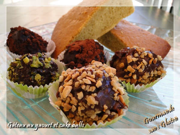 Cake Pops Reste De Gateau Et Yaourt