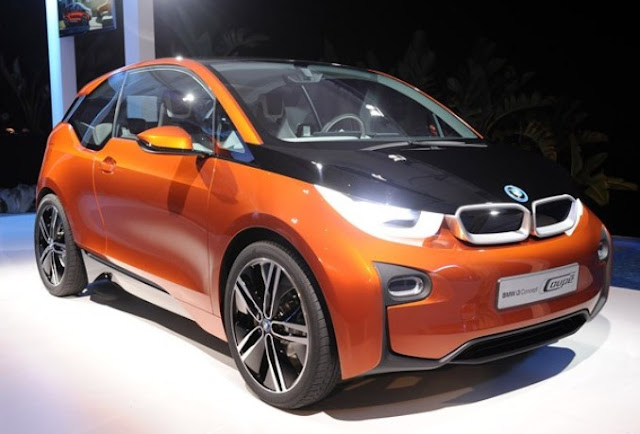 bmw electric car 2013 new release price