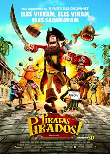 Download Piratas Pirados! RMVB Dublado + AVI Dual Áudio + Torrent