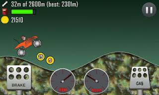 Hill Climb Racing para Android, juego divertido android, juego android tablet