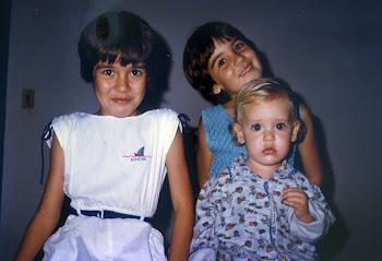 Carolina, Carla e Isabela