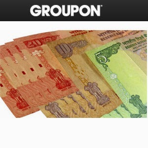 Groupon Credit worth Rs. 500 for Rs. 95, Worth Rs. 2500 for Rs. 1450, Worth Rs. 10000 for Rs. 7450 – Groupon