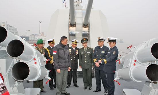 Indonesia-China matangkan latihan bersama angkatan laut