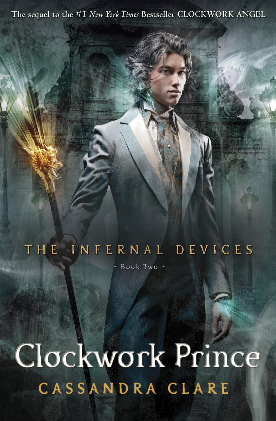 Cover Reveal–Clockwork Prince by Cassandra Clare