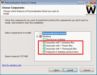 how to install install theme windows 7 to starter and basic